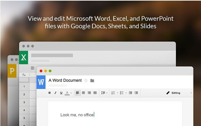 office viewer extension