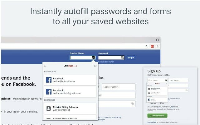 password extension for chrome