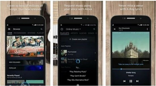 Music Streaming With Amazon App