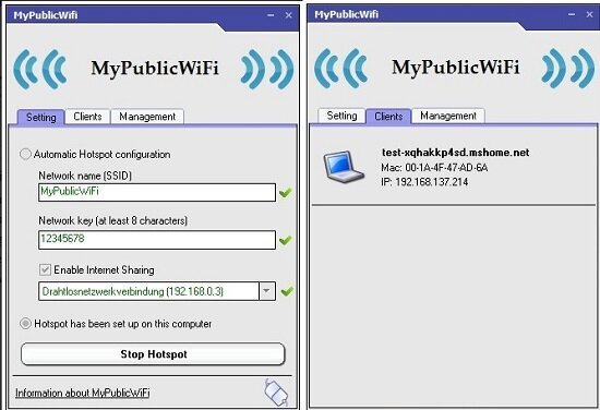 MypublicWifi Windows Software