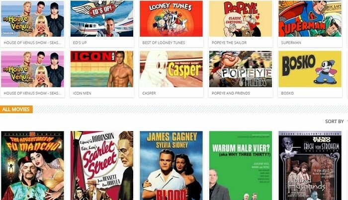 Viewster Collection of Movies