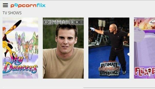 Popcornflix_TV content