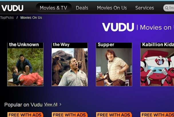 watch movies on Vudu