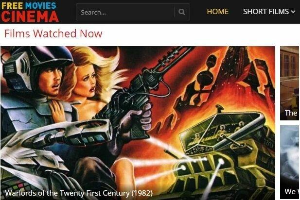 free movies cinema homepage
