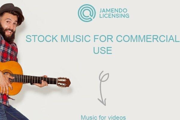 Jamendo Homepage