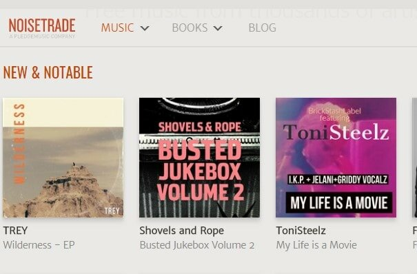 mp3 music download on noisetrade