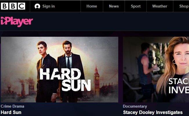 watch TV online on BBC iplayer