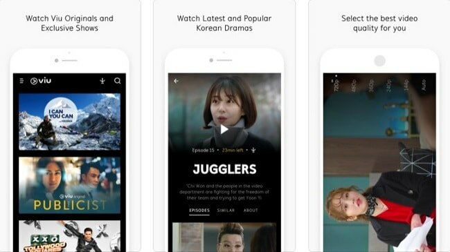 Viu App iphone