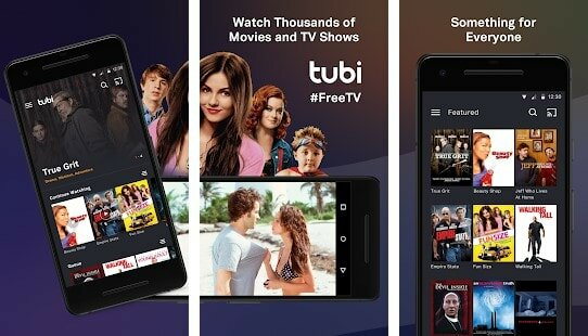 movies on android with tubitv