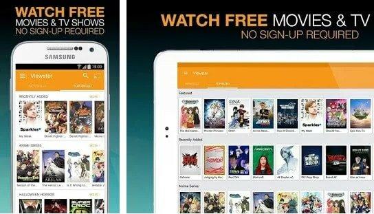 viewster app image