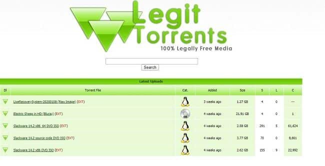 legit torrent website